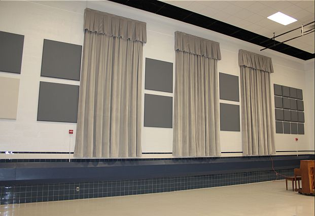 Hauppauge Middle School All Purpose Room
