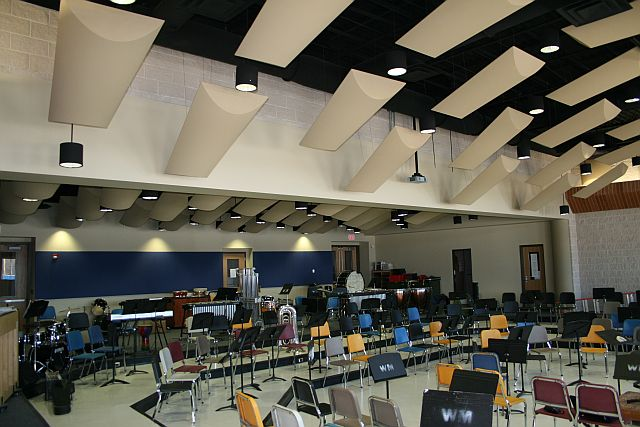 Ward Melville High School Music Suite